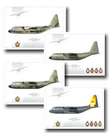 "3. JUST RELEASED: Art Prints C-130H Hercules ""End of an Era"" print series featuring highly detail profile renderings to mark the retirement of the type after 34 years of RAAF service. For more information see the NEWS page"