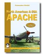 "5. NEW RELEASE ""North American A-36A Apache"" Yellow Series from MMP Books. Contribution: 18 pages of profile drawings and the scale plan set."